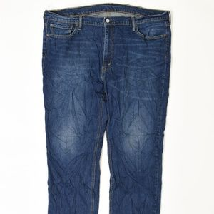 Levis  Big & Tall 42 Blue 42x30 541 Cotton solid